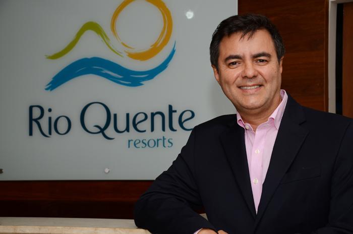 Flavio Monteiro, diretor de Marketing e Vendas do Grupo Rio Quente Resorts
