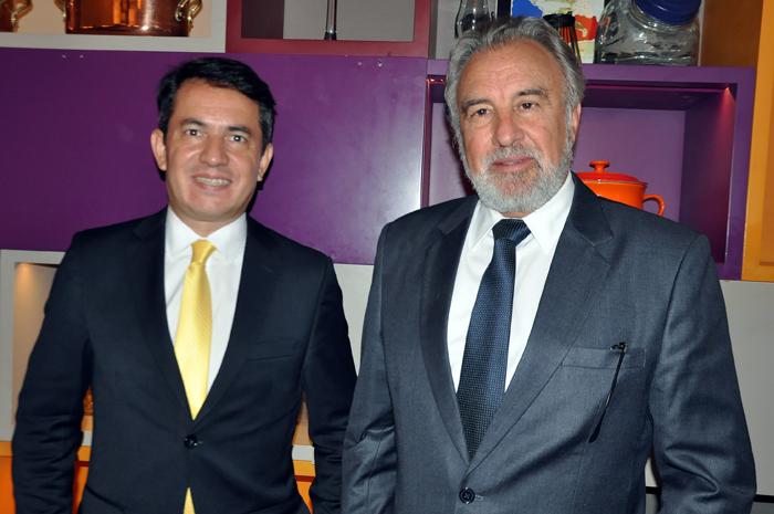 Gelson Popazoglo e Celso Guelfi, diretor Comercial e presidente da GTA