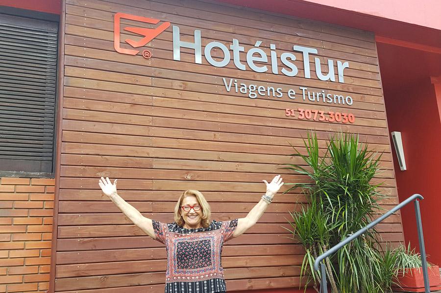 Jussara já ganhou o prêmio da melhor executiva de contas no segmento marítimo do Rio Grande do Sul