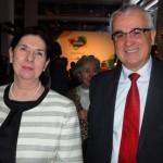 Lucia Maierá, vice Cônsul Geral do Brasil em NY, e Tarcísio Gargioni, VP da Avianca Brasil