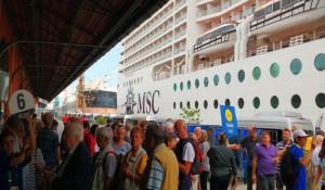Sete navios desembarcam 21 mil turistas até o dia 30 no Pier Mauá-RJ