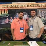 PJ Brown e Eric Bonesteel, do Wild Florida