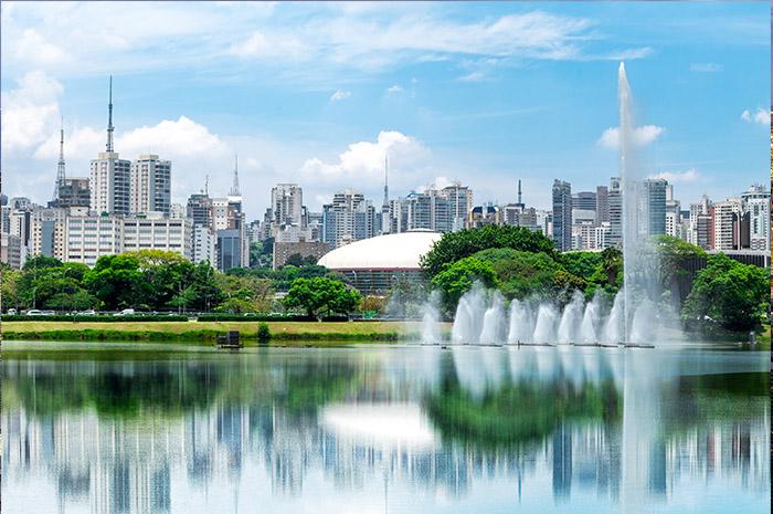 Parque do Ibirapuera: cidade se destaca como polo turísticos tanto para eventos como para lazer - Foto: shutterstock