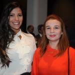 Patricia Masche, do Rio CVB, e Alessandra Fernandes, da BWT