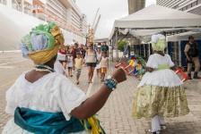 Porto de Salvador recebe mais de 18 mil turistas no Carnaval