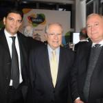 Sergio Amaral, Embaixador do Brasil nos EUA, entre os deputados federais Cláudio Cajado e Paulo Azi