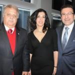 Waz Museum, do Dreamland, Maria Stan, do Imaculean, e Roberto Medeiros, Vice Cônsul Geral do Consulado do Brasil em Boston