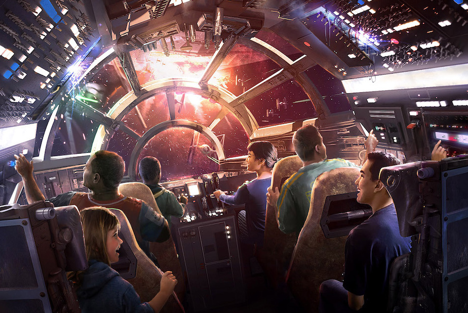 AT D23 EXPO 2017, DISNEY PARKS CHAIRMAN BOB CHAPEK ANNOUNCES NEW DETAILS OF ATTRACTIONS PLANNED FOR STAR WARS: GALAXY'S EDGE -- Walt Disney Parks & Resorts Chairman Bob Chapek shared new details and a glimpse inside the two attractions planed for Star Wars: Galaxy's Edge coming to both Disneyland park in Anaheim, Calif. and Disney's Hollywood Studios in Orlando, Fla. in 2019.