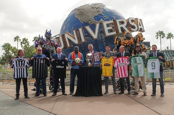 Atlético-MG, Corinthians e Fluminense participam de torneio de pré-temporada na Flórida