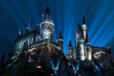 Universal anuncia novo show de luzes no castelo de Hogwarts