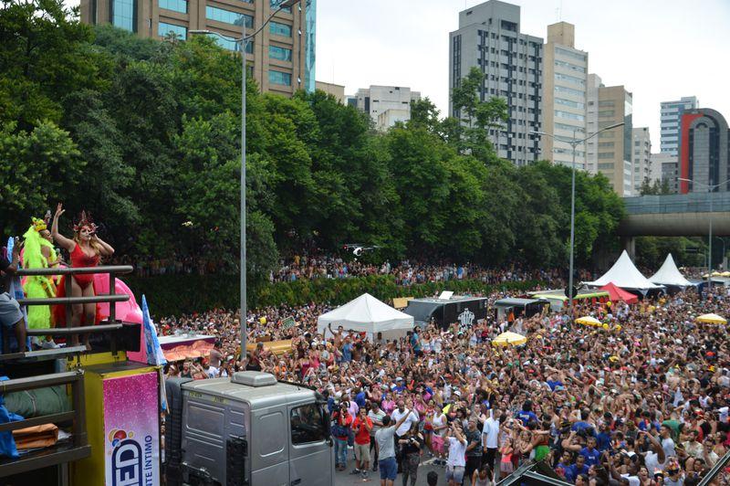 Avenida 23 de Maio recebeu blocos pela primeira vez em 2018 (FOTO: Agência Brasil)