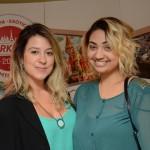 Amanda Caracante e Analu Souza, da Flyworld Viagens