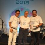 André Matos e Daniel Firmino, receberam os prêmios pela Flytour e MMT Gapnet, do mesmo grupo
