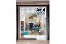 Azul Viagens inaugura loja com novo conceito visual em São Paulo