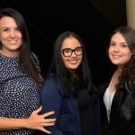 Bruna Azevedo, da Sim Agência de Viagens, Andressa Ferreira e Rebeca Mariozi, da Zap Viagens