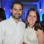 Bruno Fernandes e Luna Farias, da Iberostar