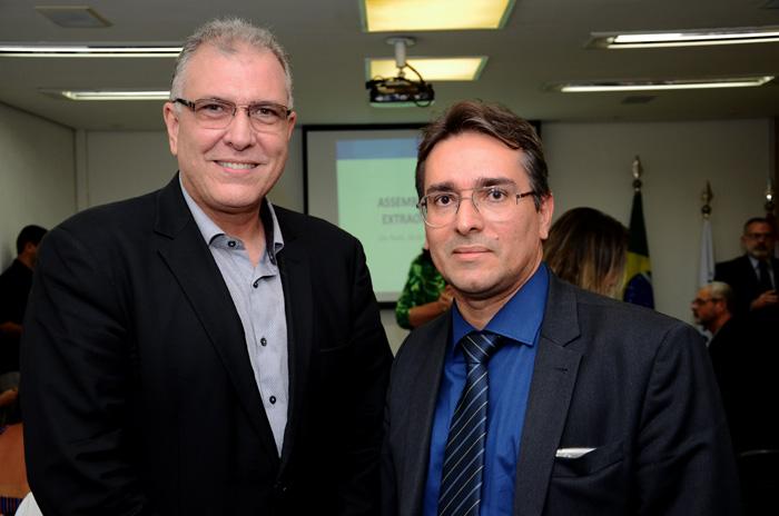 Carlos Eduardo Pereira e Júnior Lins, da Bancorbrás