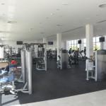 Centro conta com uma completa área de musculação