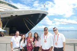 Discover promove visita técnica ao Queen Victoria e amplia comunicação com trade