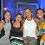 Dalila Silva e Fátima Rodrigues, da Infinitas, com Helena Costa e Luciana Ramos, da Iberostar