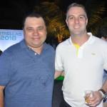 Daniel Firmino, da Flytour Viagens, e Fabricio Romero, da CVC Corp