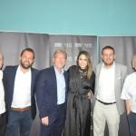 Diretores da Rede Iberostar com a cantora Alinne Rosa