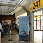 Embarque dos passageiros no 737 MAX 8 foi no portão 241