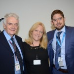 Ernesto Salvati, Glaci Marsola e Gonzalo Romero, da Aerolíneas Argentinas