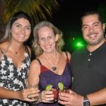 Flávia Braida, Andrea Guimarães e Rodrigo Gama, do Hotel Urbano