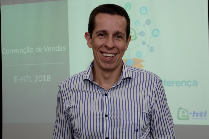 Flavio Louro, presidente da E-htl
