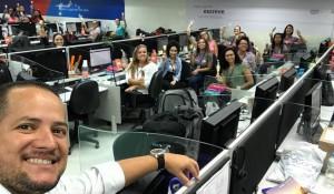 La Torre realiza ação no Call Center da Latam em São Paulo