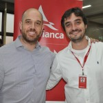 Frederico Pedreira e Arthur Furtado, presidente e gerente de marketing da Avianca Brasil