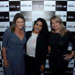 Gisela Oliveira, da Shift, Taciane Oliveira e Sara Souza,do SPCVB