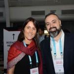 Gisele Abrahão, da GVA, e Anderson Masetto, do M&E