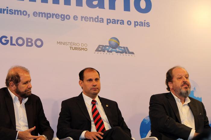 Guilherme Paulus, Ricardo Botelho e Eduardo Sanivicz
