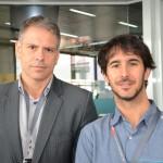 Gustavo Figueiredo e João Pita, do GRU
