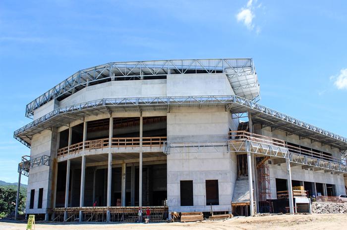 Arena Petry entra em fase final de obras
