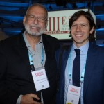 Ibrahim Tahtouh, da IT Mice Travel Solutions, e Nick Dugdale-Moore, da UFI