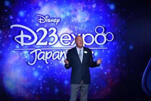 Bob Chapek, presidente da Walt Disney Parks & Resorts, anunciou uma série de novidades durante evento no Japão