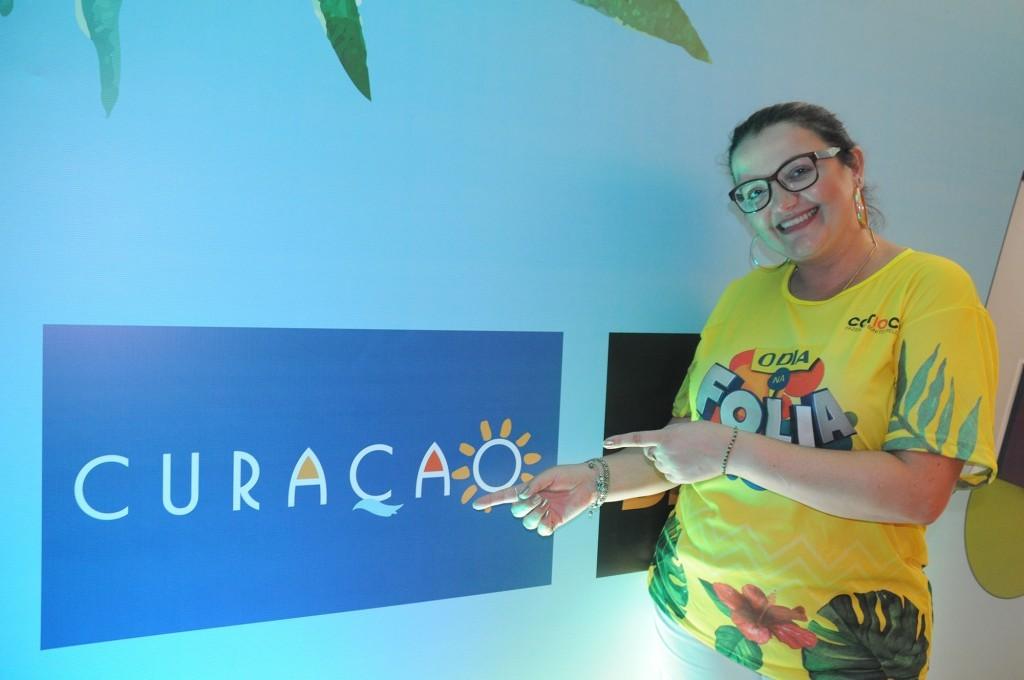 Janaina Araujo, representante de Curaçao no Brasil