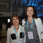Jeane Chadi, do Expo Center Norte, e Luciene Xavier, do Iberostar