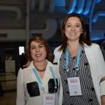 Jeane Chadi, do Expo Center Norte, e Luciene Xavier, do Iberostar