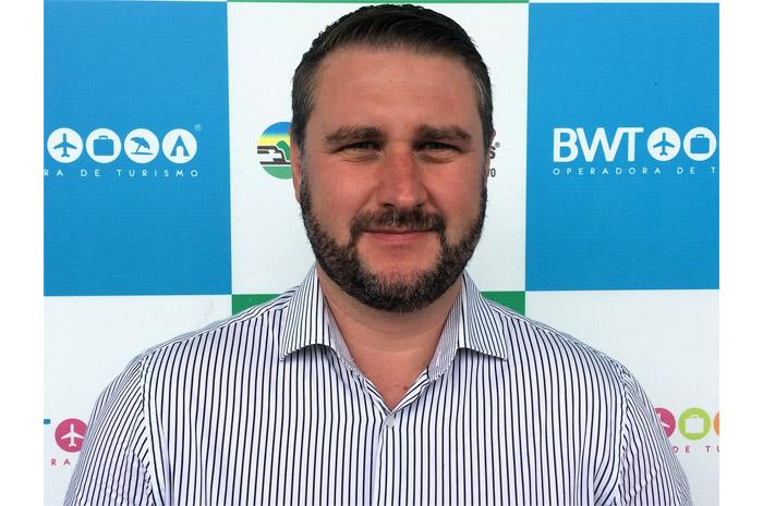 Juan Mordaski, Coordenador Comercial é um dos três novos reforços para o time de atendimento de vendas em Curitiba Divulgação