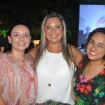 Lívia Vogel, da Latam Travel, Helena Costa, da Iberostar e Lais Azevedo, da Azul Viagens