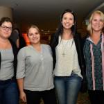 Leiriane Bermejo, da Hey Ho, Fabiana Louro, da Partiu Roteiros, Mayara Bozelli, da Inbrasil, e Marta Baptista, da Via Neia Viagens