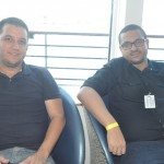 Marcio Fernandes, da MG Travel e Jeferson Novaes, da Dreamlines Cruzeiros