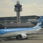 Novo avião da Aerolíneas Argentinas 737 MAX 8