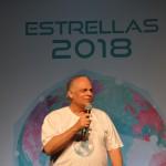Orlando Giglio foi o mestre de cerimônias do Estrellas 2018