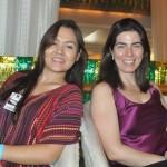 Pamela Ferreira, da Ancoradouro, e Ana Antonialli, da Companhia do Porto