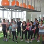 Participantes do Estrellas participaram de aula especial